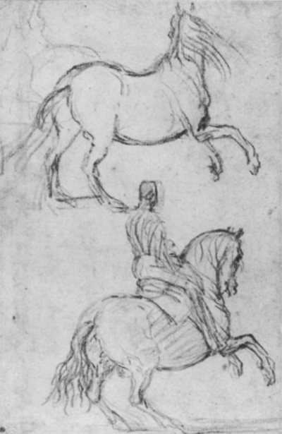 Studies of a Horse and Man on Horseback Diego Velazquez